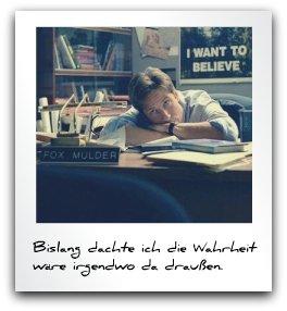 Fox Mulder (X-Files) in his office (Statement (c) www.diedenker.org)