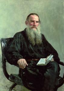 Leo Tolstoi, gemalt von Ilja Jefimowitsch Repin (1887)