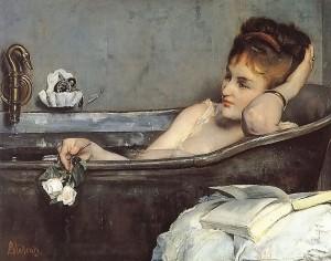"""""""Le Bain"""" von Alfred Stevens (1823–1906)"""