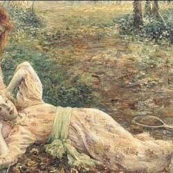 """""""Friends"""" von Louise Catherine Breslau (1856–1927)"""