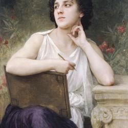 """""""Inspiration"""" von William-Adolphe Bouguereau (1825-1905)"""