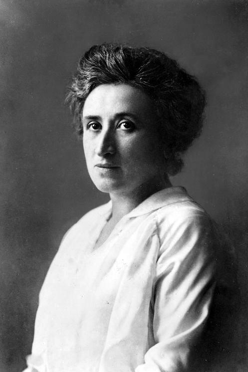 Portrait von Rosa Luxemburg