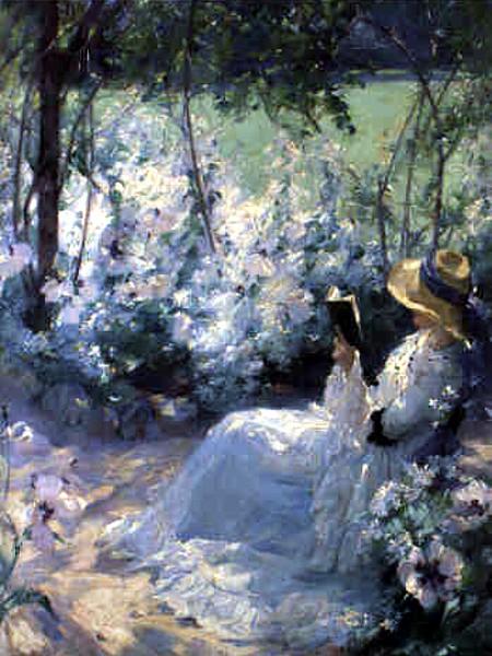 """""""Delicious Solitude"""" von Frank Bramley (1857–1915)"""