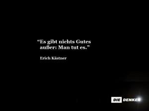 """Erich Kästner, """"Moral"""""""