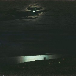 """Moonlit Night on the Dniepr"" (Öl auf Leinwand) von Arkhip Kuindzhi (1842–1911)"