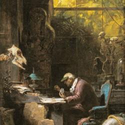 """""""Der Naturforscher"""" (Carl Spitzweg, 1808–1885)"""