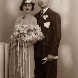 Brautpaar um 1935, Spanien (Wikipedia)