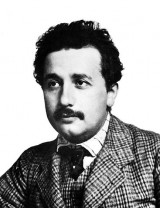 Albert Einstein 1904 oder 1905