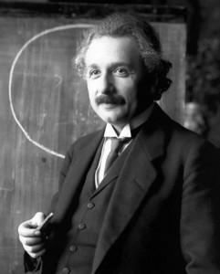Albert Einstein 1921 in Wien, fotografiert von Ferdinand Schmutzer