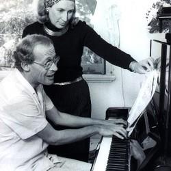 David Helfgott und seine Frau, kurz vor der Heirat