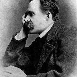 Friedrich Nietzsche (Foto: Gustav-Adolf Schultze, 1882)