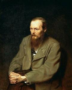 Fjodor Michailowitsch Dostojewski gemalt von Vasily Grigorevich Perov