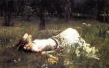 """Ophelia"" von John William Waterhouse (1889)"