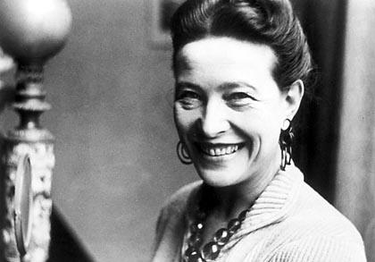 Simone de Beauvoir über das Glück