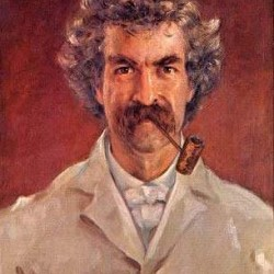 Mark Twain (Gemälde von James Carroll Beckwith, 1890)