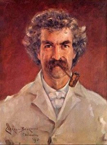 Mark Twain, 1890 gemalt von James Carroll Beckwith