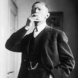 Hermann Hesse 1926 in Rüschlikon Quelle (Foto: Gret Widmann)