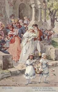 Illustration zu Friedrich Schiller