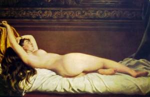 """""""Nudo"""" von Vito d'Ancona (1825-1884)"""