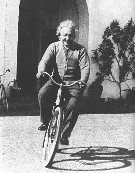 Einstein über das Leben