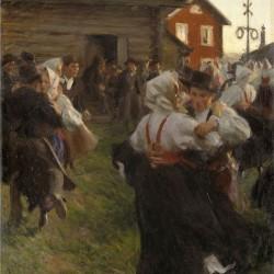 """""""Midsommardans"""" von Anders Zorn (1860–1920)"""
