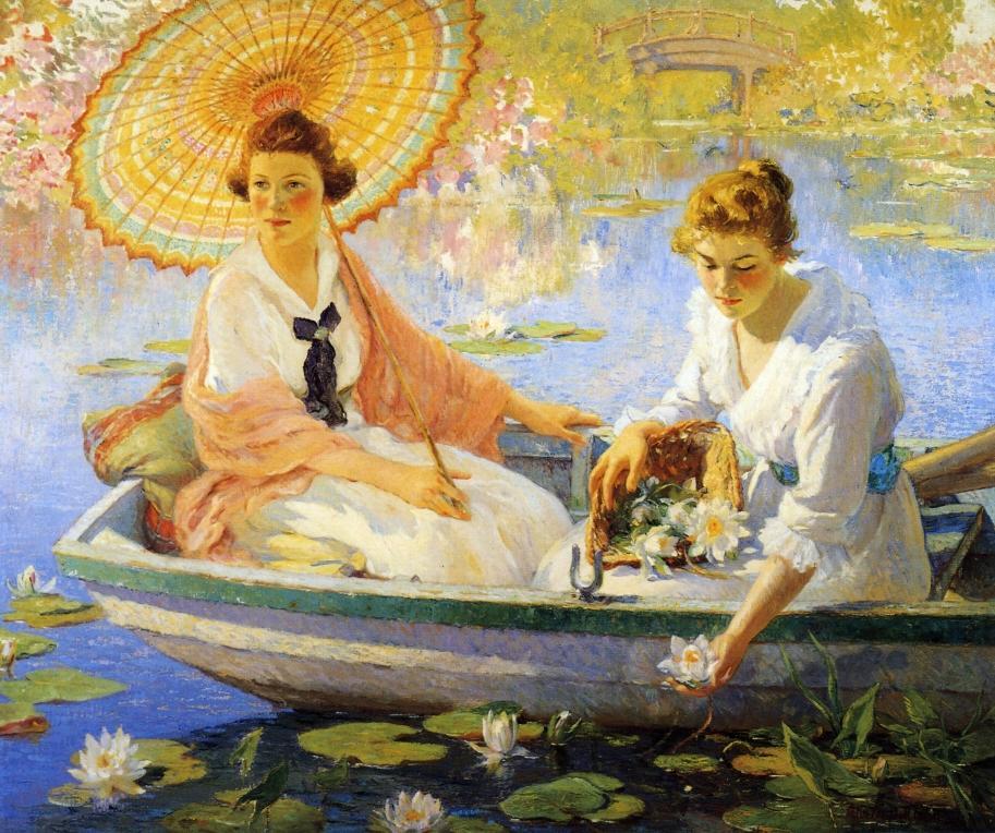 """""""Summer"""" von Colin Campbell Cooper (1856–1937)"""
