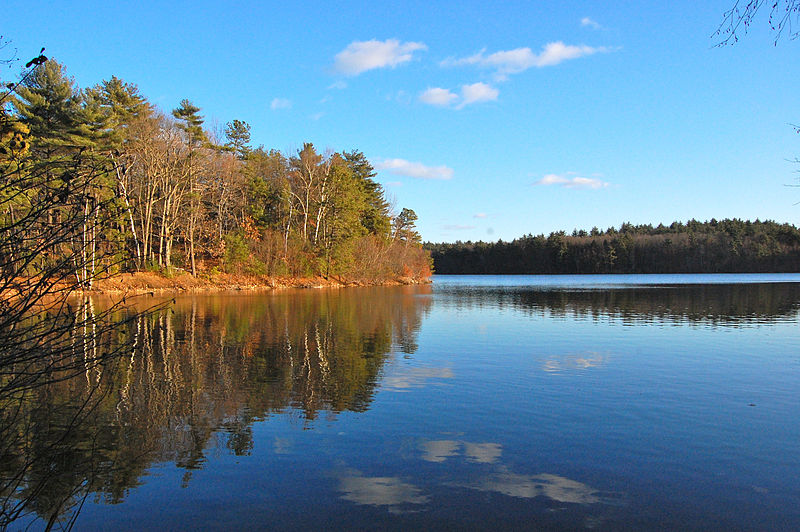Walden Pond (Photo: ptwo from Allahabad, Wikimedia, CC-BY-2.0)