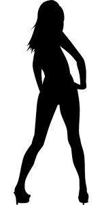 Frau mit High Heels (Bild: OpenClips, Pixabay)