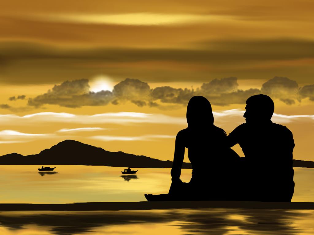 Paar am Strand (Bild: Pixabay)