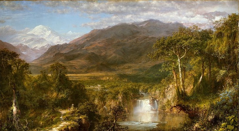 """The Heart of the Andes"" von Frederic Edwin Church (1826–1900)"