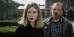 """Nora von Waldstätten und Josef Hader in """"Das ewige Leben"""""""