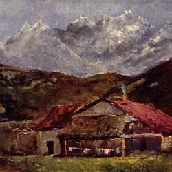"""""""Die Berghütte"""" von Gustave Courbet (1819–1877)"""