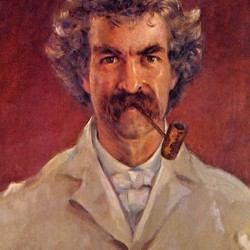 Mark Twain, 1890 porträtiert von James Carroll Beckwith (1852 - 1917)