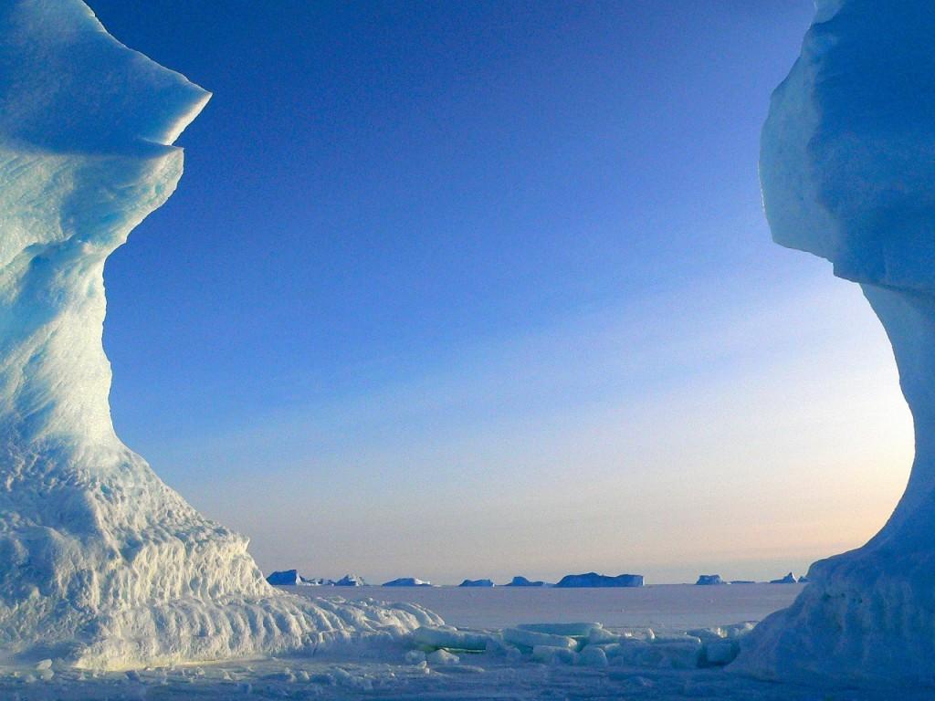 Eisschmelze und Eiszeit voraus