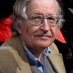 Noam Chomsky 2004 in Kanada (Foto: Duncan RawlinsonBy Duncan Rawlinson, CC BY 2.0, via Wikimedia Commons)