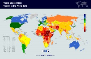 Fragile States Index 2015 © The Fund for Peace