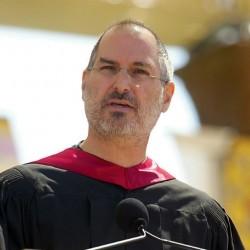Steve Jobs bei seiner Rede an der Stanford Universität 2005