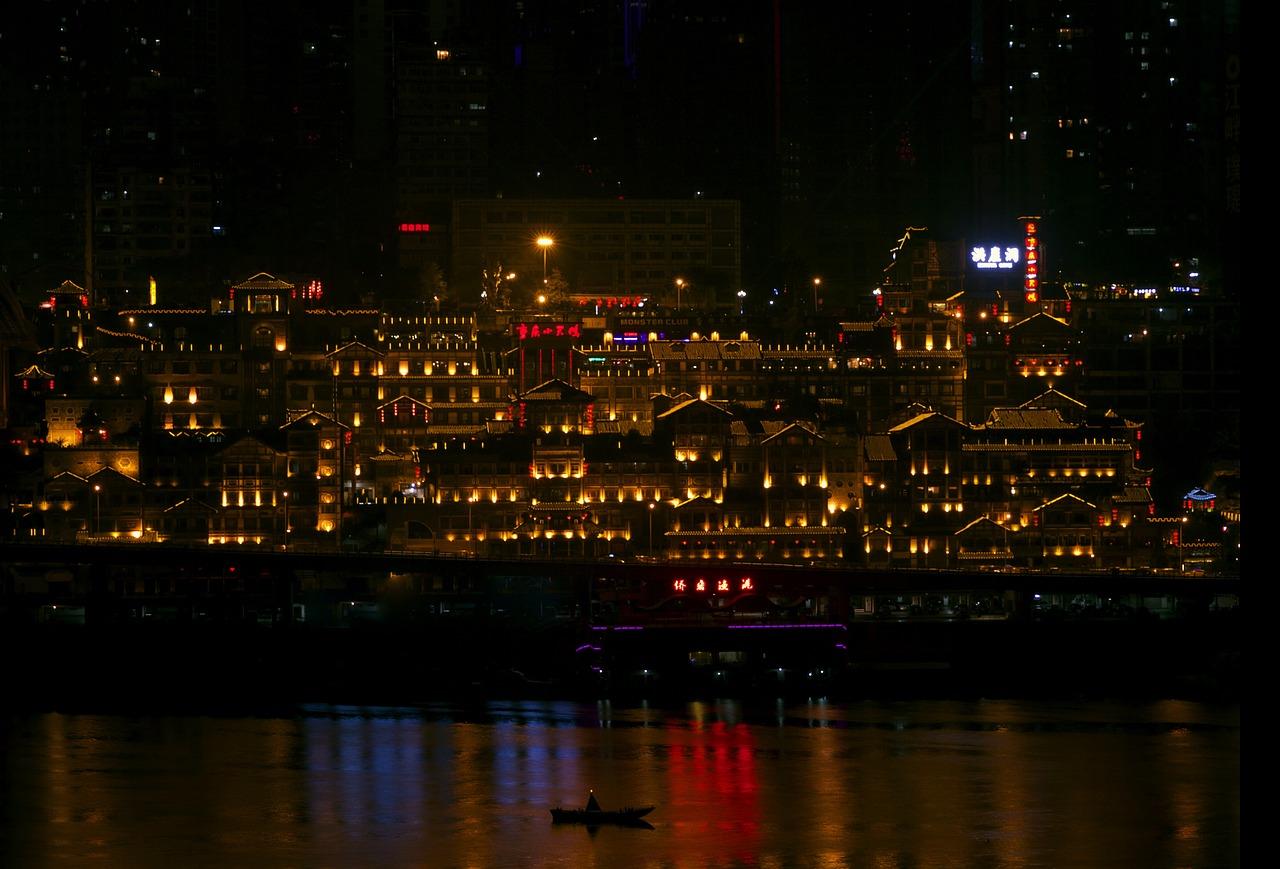 Chongqing, China, Die größte Stadt der Welt (Stand 2016, Bild: Gaffey, Pixabay)