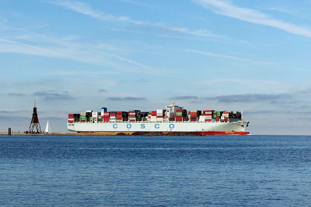 Frachtschiffe und die Folgen
