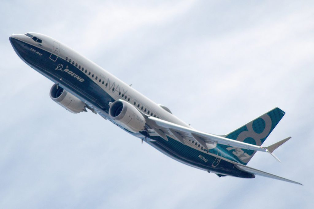 Boeing 737-8 MAX (Bild: Wikipedia)